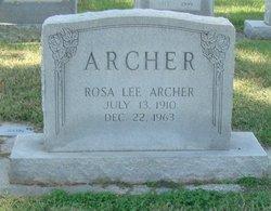 Rosa Lee Archer