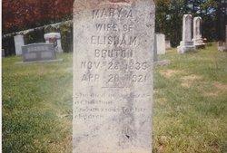 Mary Ann <I>Tennyson</I> Bruton