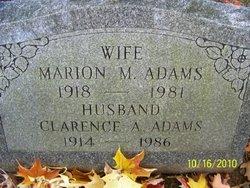 Marion M Adams