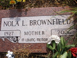 Nola Lee <I>Jones</I> Brownfield