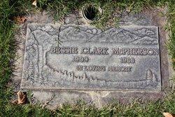 "Bessie Dydine ""Granny Mc"" <I>Clark</I> McPherson"