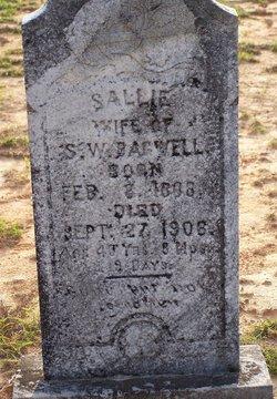 Sallie <I>Hollis</I> Bagwell