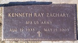 Kenneth Ray Zachary
