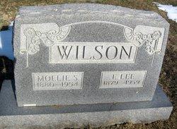 Mollie Susan <I>Mayes</I> Wilson