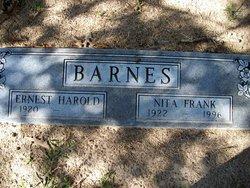 Nita <I>Frank</I> Barnes
