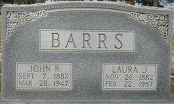 Laura Susan <I>Jones</I> Barrs