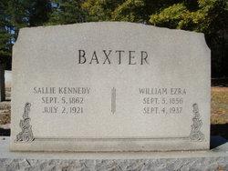 Sallie Isabel <I>Kennedy</I> Baxter