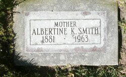 Albertina <I>Goodall</I> Smith