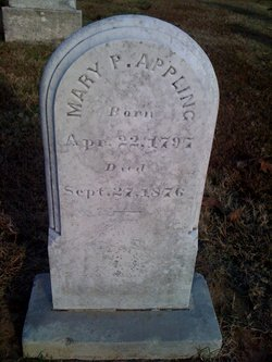 "Mary P ""Polly"" <I>Williamson</I> Appling"