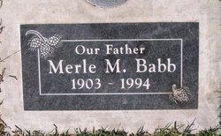 Merle Mervin Babb