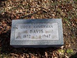 """Nancy Elizabeth """"Lizzie"""" <I>Ammerman</I> Davis"""