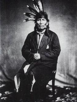 Chief <I>Walking Iron</I> Mazomani