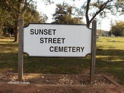 Sunset Street Cemetery