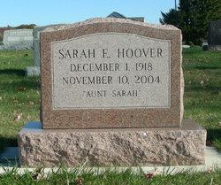 Sarah E Hoover