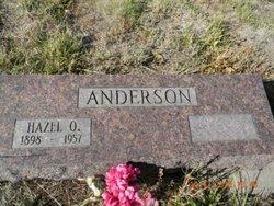 Hazel Oliver Anderson
