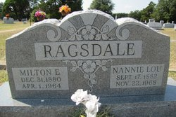 Nannie Lou <I>Renfrow</I> Ragsdale