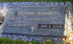Nellie Lavonne <I>Montey</I> Bothwell
