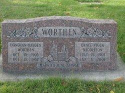 Donovan Worthen