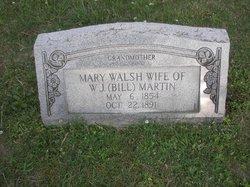 Mary <I>Walsh</I> Martin