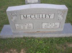 Vester E McCulley