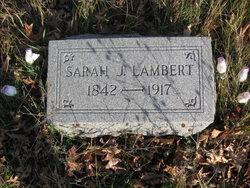 Sarah J. Lambert