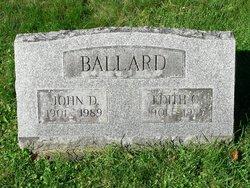 Edith P <I>Christopher</I> Ballard