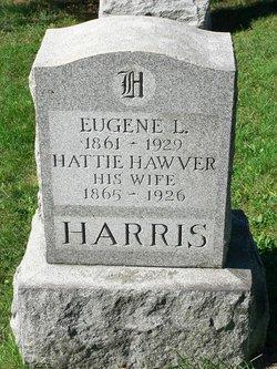 Hattie <I>Hawver</I> Harris