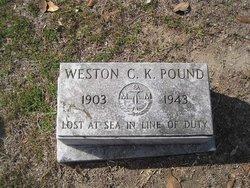 Weston Clyde Kenneth Pound