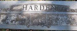 Goldie Belle <I>Lister</I> Harden