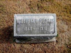 """William Thomas """"Tom"""" Adams"""