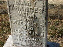 Mary Frances Helm