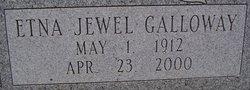 Etna Jewel <I>Galloway</I> Alexander