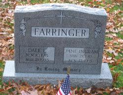 Frances Jane <I>Ingram</I> Farringer