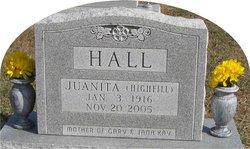 Juanita E. <I>Highfill</I> Hall