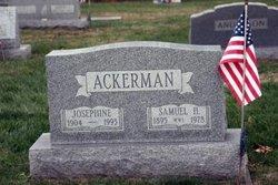 Josephine May <I>Hagan</I> Ackerman