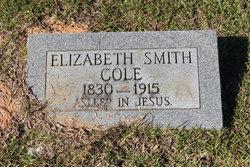 Elizabeth <I>Smith</I> Cole