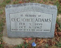 """Oren Chester """"Chet"""" Adams"""