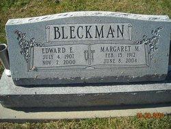 Margaret M. <I>Brinker</I> Bleckman