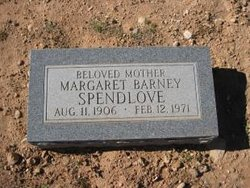 Margaret Percilla <I>Barney</I> Spendlove