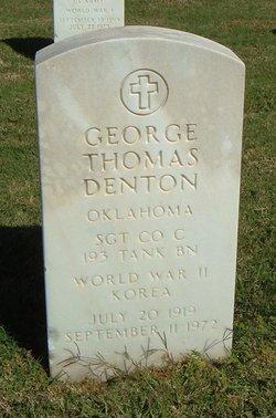 George Thomas Denton