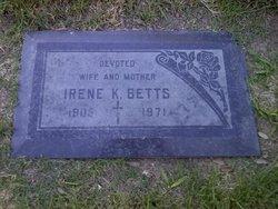 Irene Pauline <I>Kraft</I> Betts