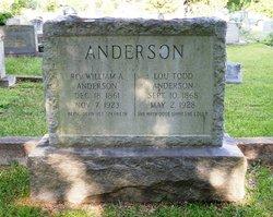 Lou Spencer <I>Todd</I> Anderson