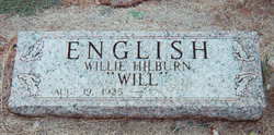 "Willie Hilburn ""Will"" English"