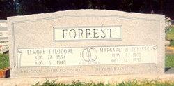 """Margaret """"Mag"""" <I>Hutchinson</I> Forrest"""