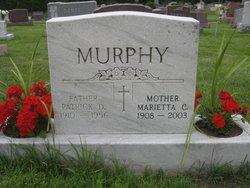 "Marietta Catherine ""Dot"" <I>Maloney</I> Murphy"