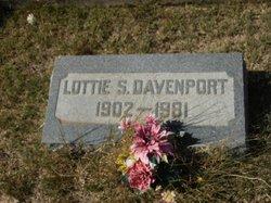 Lottie <I>Stidham</I> Davenport