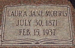Laura Jane <I>Morris</I> Wright