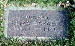 Eliza <I>Barber</I> Barnett