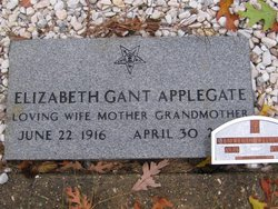 Elizabeth <I>Gant</I> Applegate