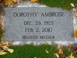 Dorothy <I>Green</I> Ambrose